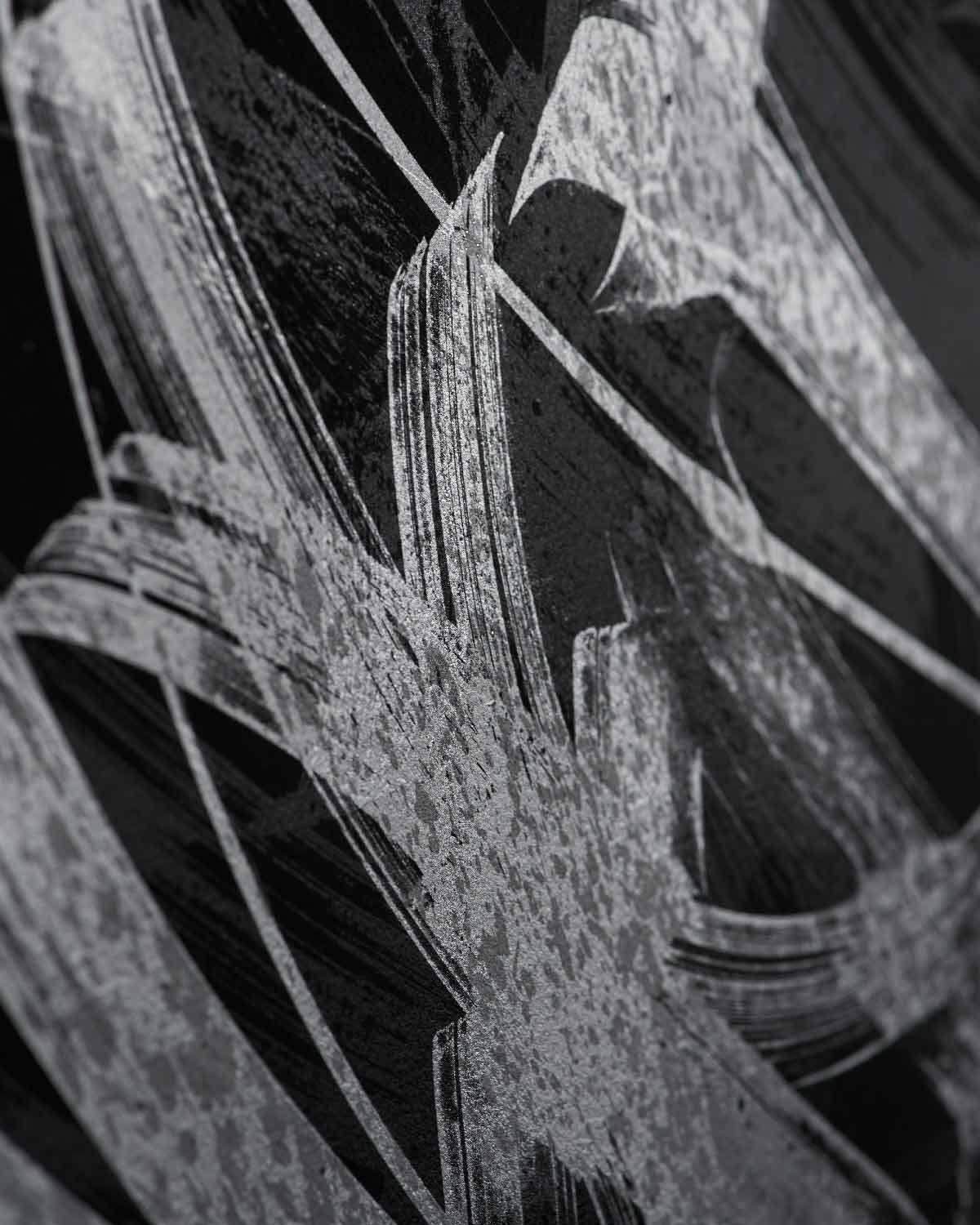 Detail of Calligraphy Fine Art Print by the artist Said Dokins. Calligraffiti Ghosting Series