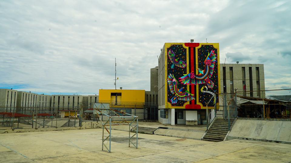 The 1st Largest Murals in Mexico's Penitentiary System