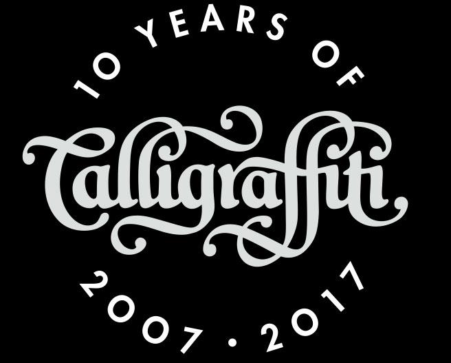 Calligraffiti logo 10 years