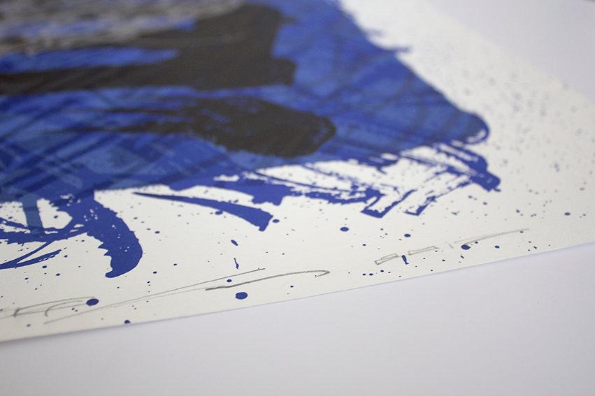Calligraphy Alphabeth Print by Said Dokins El Ocaso
