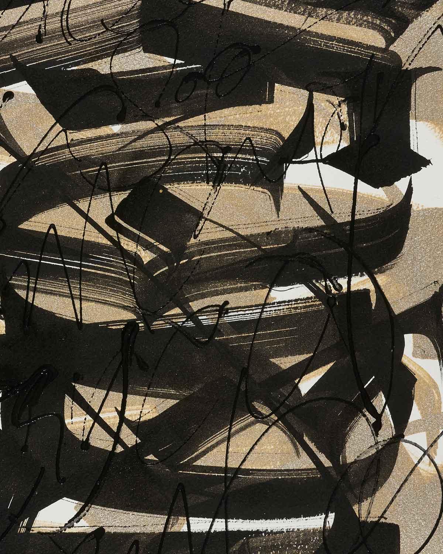 Sacred, artwork on paper by Said Dokins