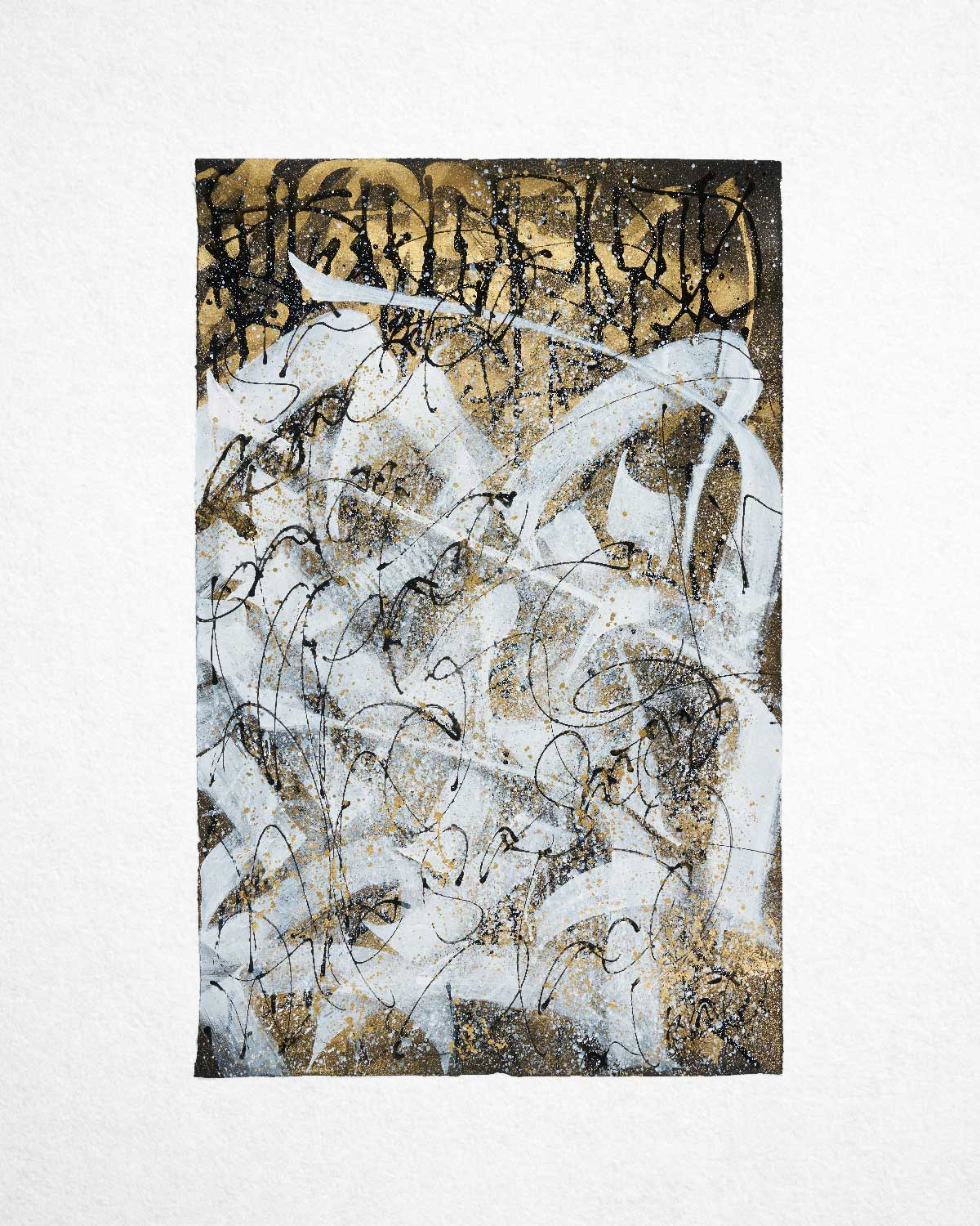 Sacred Place 02, artwork on paper by Said Dokins