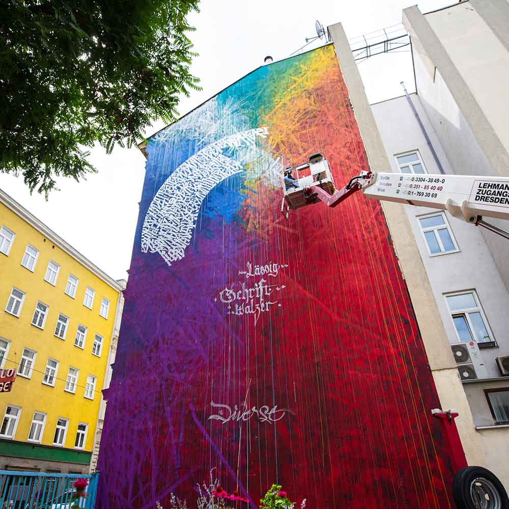 Eclipse Said Dokins calligraphy calligraffiti mural vienna 4